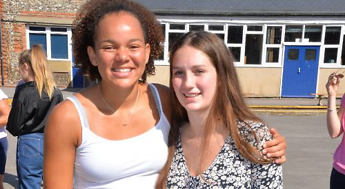 Cromwell Community College in Chatteris celebrate another year of continued GCSE success