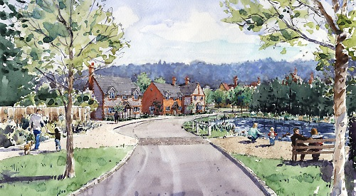 New Build Homes In Benson Oxfordshire