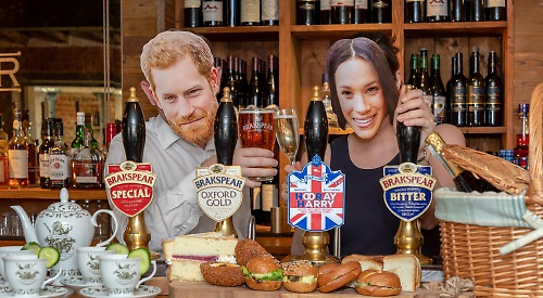 Pubs offering ale brewed to mark royal wedding