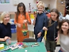 Pupils re-use plastic to create art and highlight issue