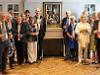 Village's oil portrait of war hero restored while on loan