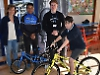 Boy wins bike but ride's off