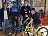 Boy wins bike but ride's off