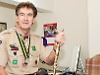 Scout leader raises £7,000 with sale of memorabilia