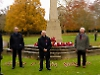 Village's last surviving Second World War veteran marks Armistice Day