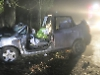 Couple hospitalised after crashing in to tree