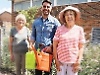 Bloom volunteers star in TV episode about village