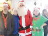 Villagers mark start of Christmas season three times in one day