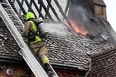 Thirty firefighters tackle Henley blaze