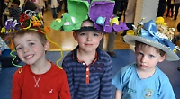 Emmer Green pre-school Easter hats
