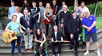 Some of the line up for Music on the Meadows 2014