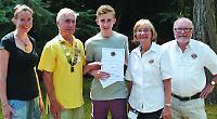 Lions honour for pupils