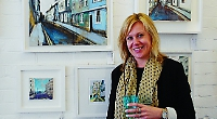 Thank you, Henley, says artist as she moves away