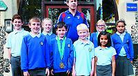 Paralympic medallist visits junior school
