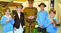 Pupils given history lesson on Great War
