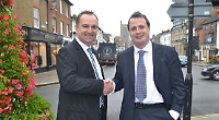 Nigel White with Richard Rodway