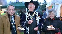 Henley Mayor Martin Akehurst with the Henley Rotary Clubs' president Alan Dawe