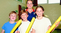 Javelin ace tells kids to follow their dreams
