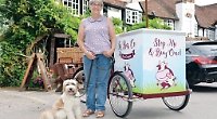 Woman made redundant sells ice-cream by tricycle
