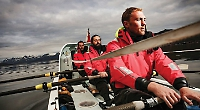 Olympian calls off Polar Row due to danger... and he misses family