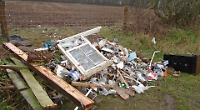 Fly-tipper caught on camera fined thousands