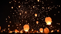 Lantern festival called off due to fear of fire