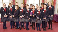 Tycoon In Schools award ceremony 2013 held at Buckingham Palace