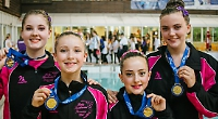 Gold medals for duets