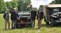 Friends take wartime jeep to D-Day commemorations