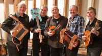 Ceilidh band are limbering up for barn dance