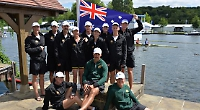 Aussie rowers pay tribute to their winning predecessors