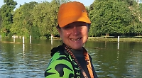 First woman to complete 10 Henley Classic swims