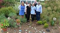 Memorial garden for care home residents