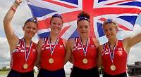 Henley Rowing Club girls help Great Britain to victory
