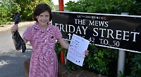 Pick up after your dog and put it in bin, says schoolgirl
