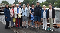French boat enthusiasts get a flavour of the Thames
