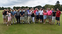 Couple stage Sue Ryder golf day in memory of friends