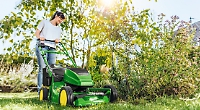 Treat yourself (and your lawn) to a walk-behind lawnmower