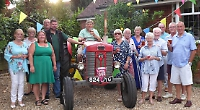 David throws birthday party for his 60-year-old tractor