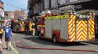 Henley street shut after fire at spa