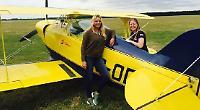 Aerobatics pilot and pupil killed as plane crashes
