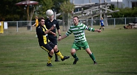 Searle's goal from outside box sets up opening day win