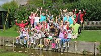 Children enjoy nature day in memory of village GP