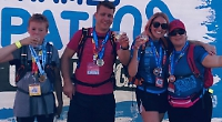 We did the Thames Path Challenge