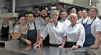 School chef spends day in kitchen at top restaurant