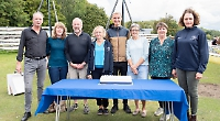 Rowing club stalwarts have boats named after them for 180th birthday