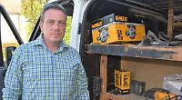 Tradesman's £10,000 tools taken from van