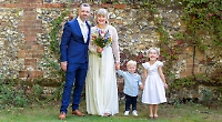 Wedding winners enjoy 'best day of their lives'