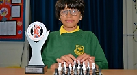 Boy, nine, in national final of schools chess contest