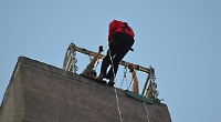 The abseiling 72-year-old